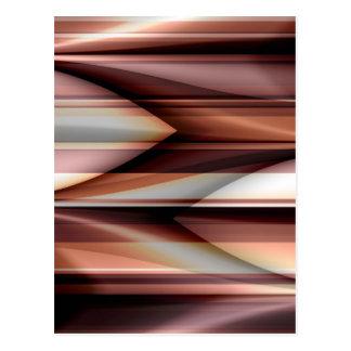 Stripes pattern orange created by Tutti Postcard