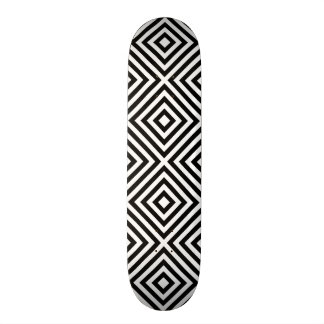 Stripes Pattern Skateboard