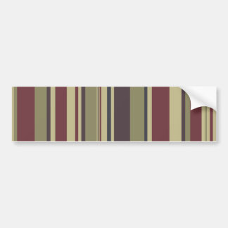 Stripes: Phoenix Color Scheme: Bumper Sticker