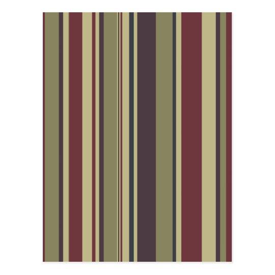 Stripes: Phoenix Color Scheme: Postcard