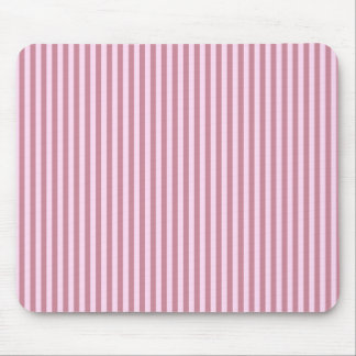 Stripes - Pink Lace and Puce Mouse Pad