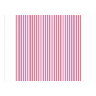 Stripes - Pink Lace and Puce Postcard