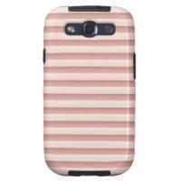 Stripes Pink Samsung Galaxy S3 Case