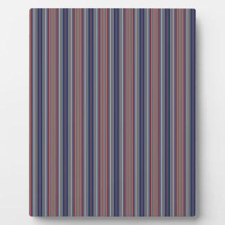 Stripes Plaques