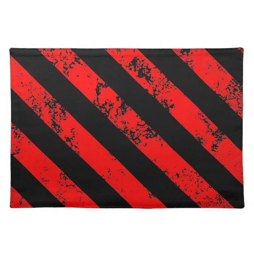 Stripes Punk / Anarchist cracked Manteles Individuales