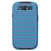 Stripes Purple Samsung Galaxy S3 Case