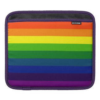 STRIPES: RAINBOW! SLEEVE FOR iPads