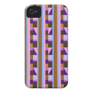 Stripes, rectangles, tiles & triangles iPhone 4 Case-Mate case