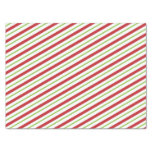 STRIPES RED AND GREEN Tissue Paper