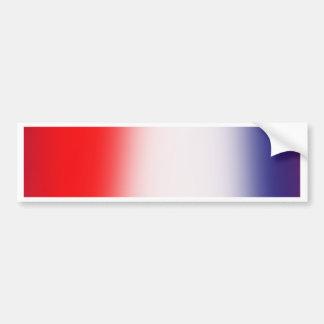 Stripes Red White and Blue Bumper Sticker