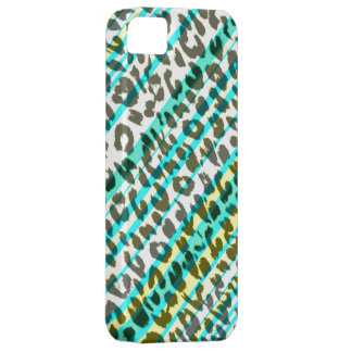 Stripes seamles animal print texture of leopard iPhone SE/5/5s case
