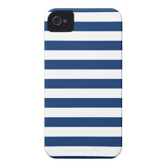 Stripes Sodalite Blue Iphone 4/4S Case
