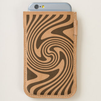Stripes Swirl iPhone 6/6S Case