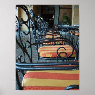 Stripes & Swirls, Belliago Italy - Customized Poster