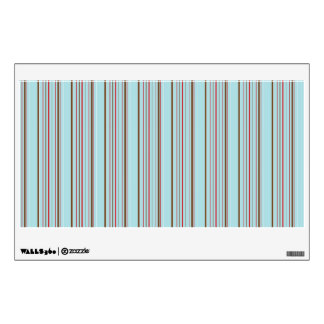 Stripes texture wall sticker