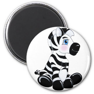 Stripes the Baby Zebra Magnets