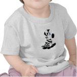 Stripes the Baby Zebra Tee Shirts