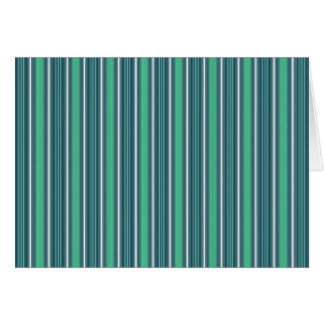 Stripes Vertical Multi Widths Blue Raspberry Ice Card