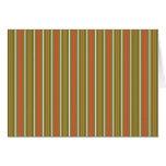 Stripes Vertical Multi Widths Orange & Lime