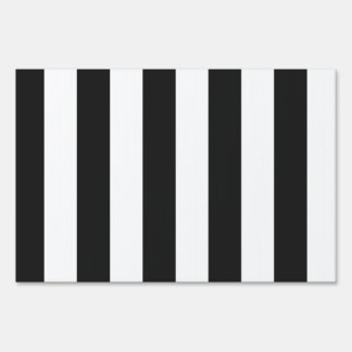 Stripes - White and Dark Gray Signs