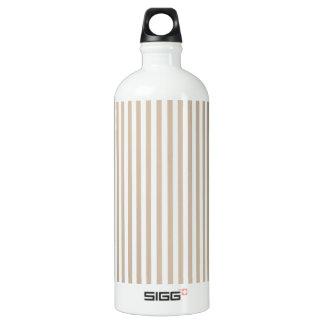Stripes - White and Dark Vanilla SIGG Traveler 1.0L Water Bottle
