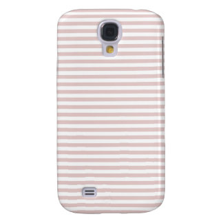 Stripes - White and Dust Storm Galaxy S4 Case