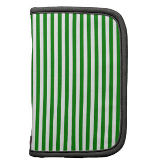Stripes - White and Green Organizers