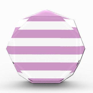 Stripes - White and Light Medium Orchid Award