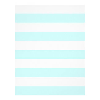 Stripes - White and Pale Blue Letterhead
