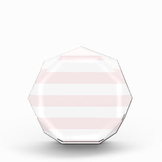Stripes - White and Pale Pink Award
