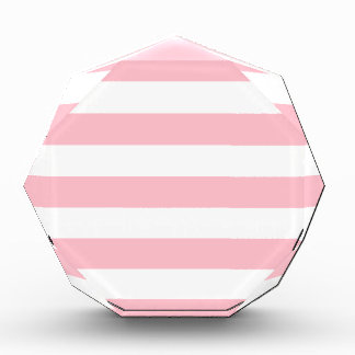 Stripes - White and Pink Award