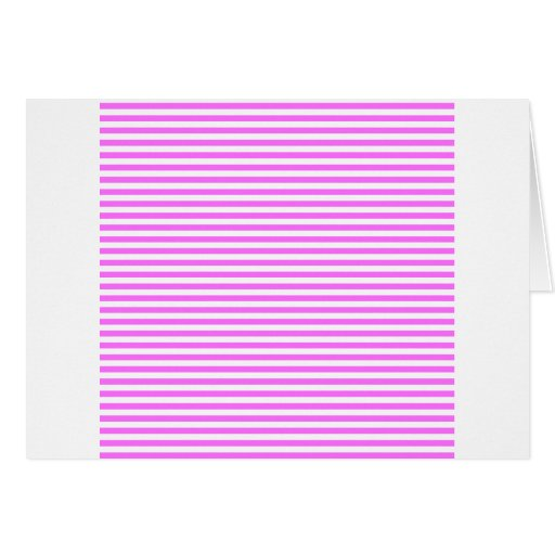 Stripes - White and Ultra Pink Cards