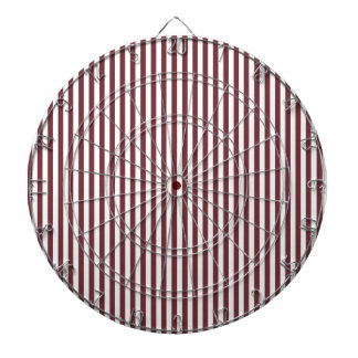 Stripes - White and Wine Dartboards