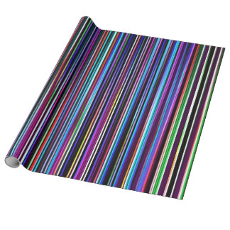 stripes wrapping paper