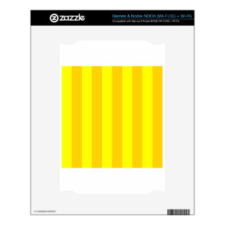 Stripes - Yellow and Dark Yellow NOOK Skins