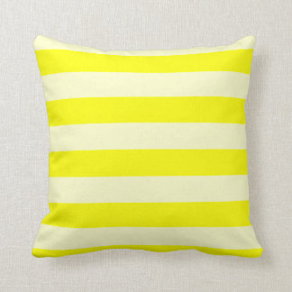 Stripes - Yellow and Light Yellow Pillows
