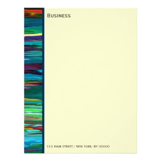 Stripesa ~ Business Letterhead / Stationary