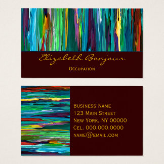 Stripesa - CHANGE COLOR Business Card