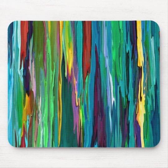 Stripesa ~ Mousepad Abstract Modern Retro Stripes