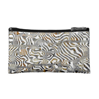 Stripey Abstract Cosmetics Bags