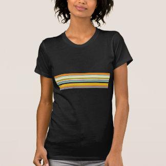 Stripey Autumn Colors Tshirt