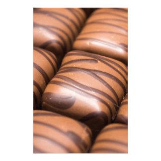 Stripey Chocolates Stationery