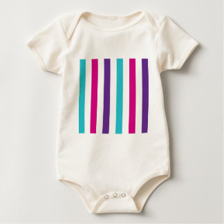 Stripey Lines Baby Bodysuit