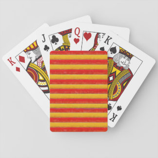 Stripey Playing Cards