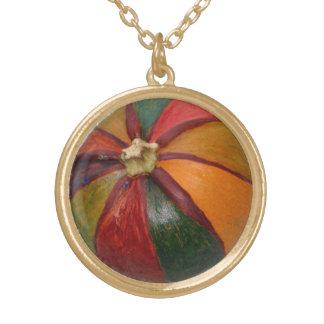 Stripey Pumpkin necklace