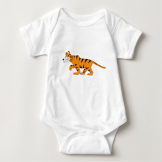 Stripey tiger baby bodysuit