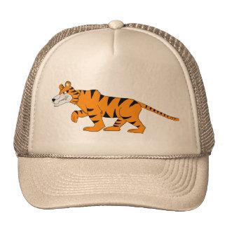 Stripey tiger trucker hat