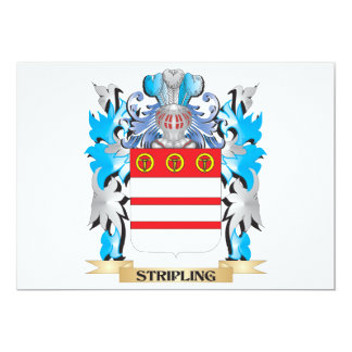 Stripling Coat of Arms - Family Crest 5x7 Paper Invitation Card