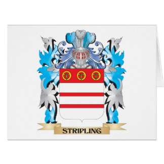 Stripling Coat of Arms - Family Crest Large Greeting Card
