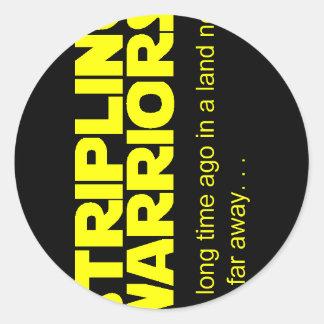 Stripling Warriors Classic Round Sticker